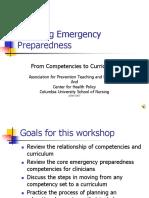 Teaching Emergency Preparedness
