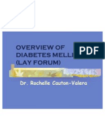 Diabetes Mellitus Overview Lay