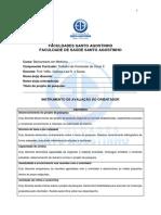 Instrumento de Avaliação do Orientador (TCC II)