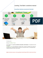 Advanced Accounting Solutions Manual and Test Bank