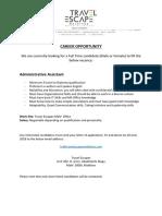 Career Opportunity - TE (1)