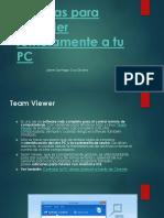 5 Forma de acceder a una PC