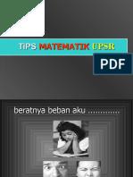 Tips Menjawab Kertas 1 Dan Kertas 2 Matematik UPSR