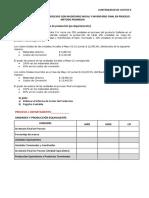Ejercicios Costeo Con Inv. Inicial y Final en Procesos Promedio- 2440
