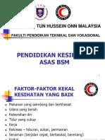 Pendidikan Kesihatan Asas PBSM-nota Pelajar