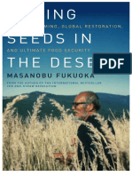 Sowing Seeds in the Desert by Masanobu Fukuoka Introduction