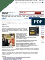 FOLHA - Acordo Brasil - Vaticano