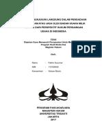 Sistem Penunjukan Langsung Dalam Pengadaan Barang Dan/Atau Jasa Oleh Badan Usaha Milik Negara Dari Perspektif Hukum Persaingan Usaha Di Indonesia