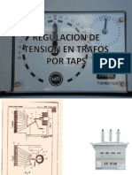 Regulacion de Tension en transformadores con taps
