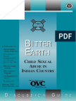 Bitter Earth Child Sexual Abuse in Indian Country Discussion Guide