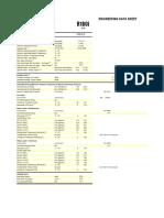 R160 Engineering Data Sheet V1297-99