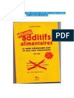 Additifs Et Gelatine C Gouget
