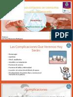 Complicaciones de La Extracción Dental