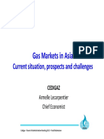 Gas markets in asia