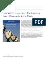 Deloitte Green Deal