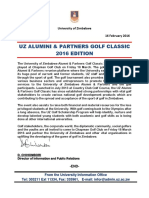 UZ Alumni Golf 2016 Edition Press Release 2