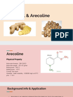 6-gingerol   arecoline