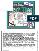 Close Reading Comprehension Passages With Questions Free