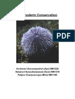 echinoderm conservation bio