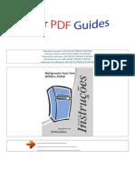 Manual Do Usuário Aeg Electrolux Dfn49 p