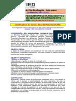 Especialização Em Planejamento e Gestão de Obras - São Luis