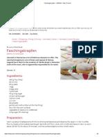 Faschingskrapfen - VIENNA – Now. Forever