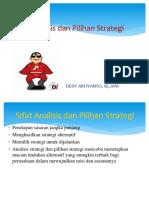 Analisis Dan Pilihan Strategi Copy