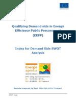 EFFECT - Demand Side SWOT Analysis