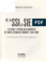De La SSI La SIE - Florian Banu