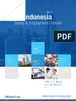 2017 Indonesia Salary Employment Outlook