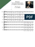 Motette Ich Lasse Dich Nicht Du Segnest Mich Denn BWV Anh. 159 J. S. Bach
