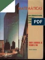 Matematicas Para Economía