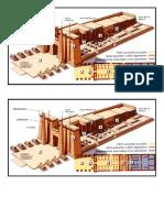Partes de Un Templo Egipcio