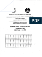 Melaka SPM 2010 Trial Maths P1 & P2 Marking Schemes