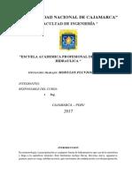 Informe Meteorologia-moduolos Pluviometricos