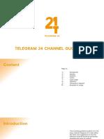 Telegram 24 Branding Guideline