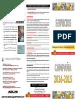 Servicios Deportivos 2014