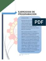 Ejercicios de Programación(Zela Valero Cristian Joel)