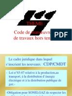 CODE DE MANOEUVRES ET TRAVAUX HORS TENSION.ppt