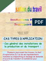 Installation Ht_transport