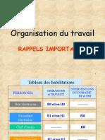 ORGANISATION  TRAVAIL_REGLES DE SECURITE.ppt