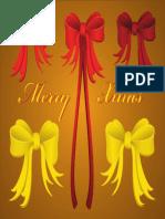 Vector Christmas Ribbons