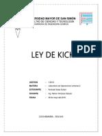 LEY DE KICK