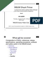 Shack Primer Part 2