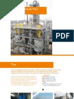 Complete Formaldehyde Plant