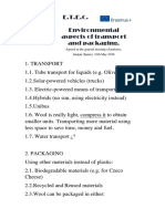 g5-ideas more ecofriendly transpor and packaging