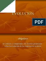 Evolucion de Lamarck y Darwin