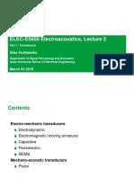 ELEC-E5650 Lecture2 Part1 Transducers