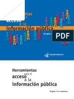 Manual de Acceso a La Informacion Publica Para Ciudadanos