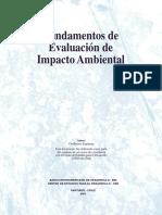 Fundamentos Evaluacion de Impacto Ambiental Chile